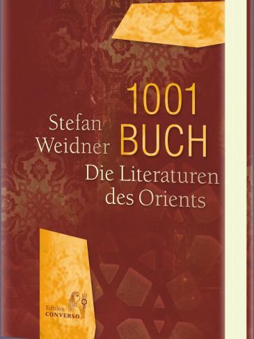 """غلاف كتاب """"ألف كتاب وكتاب: آداب الشرق"""" للكاتب والمترجم الالماني المعروف شتيفان فايدنر"""