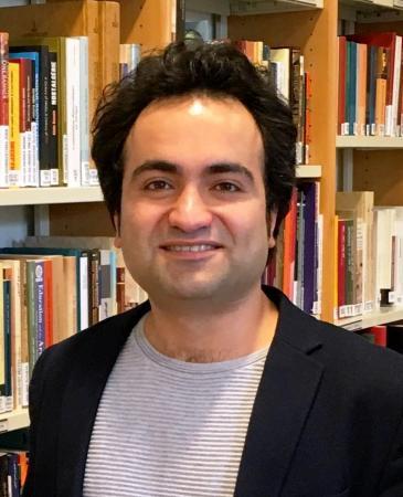 حسام الحسون -باحث في التاريخ الحديث والمعاصر  وطالب دكتوراه في دارسات العالم الإسلامي في جامعة الرور في بوخوم - ألمانيا. Foto: Privat