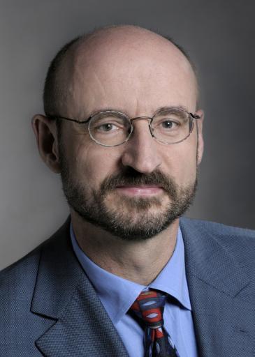 الباحث في العلوم الإسلامية وأستاذ القانون في جامعة إرلانغن الألمانية ماتياس روهه.  Foto: privat