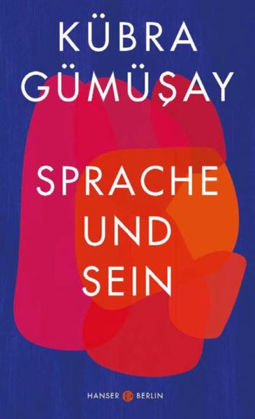 """الغلاف الألماني لكتاب """"اللغة والذات""""، للناشطة كبرى غوموشاي، دار نشر هانزر، عام 2020، 208 صفحات،  Hanser Verlag"""