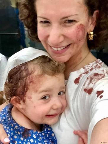 اللبنانية سندي شمالي كوشران وابنتها زوي. Foto: privat