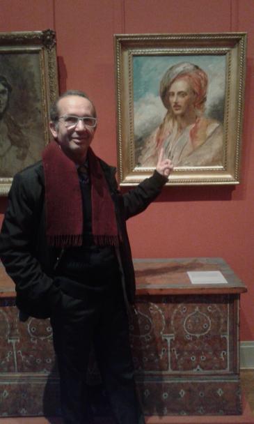 الكاتب الجزائري إبراهيم مشارة. Privat