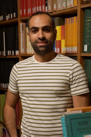 الباحث السياسي عبد الهادي العجلة. (photo: Patrick Mzaaber, Orient-Institut Beirut (OIB))