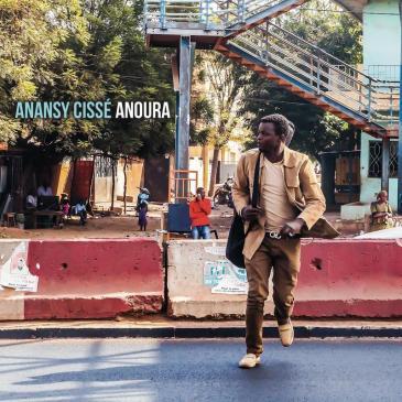 """غلاف ألبوم """"أَنُورا"""" لأَنانسِي سِيسِّه (توزيع تسجيلات """"ريڤِيربُوت"""") (distributed by Riverboat Records)"""