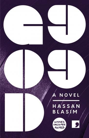 """غلاف الترجمة الإنكليزيَّة لرواية حسن بلاسِم """"الله 99"""" (دار النشر: كوما پريس)  (published by Comma Press)"""