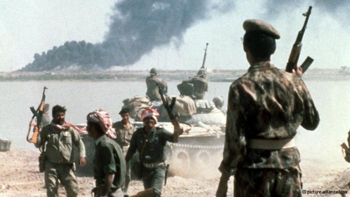 اتهم العراق إيران بقصف البلدات الحدودية العراقية في 4 سبتمبر/ أيلول 1980