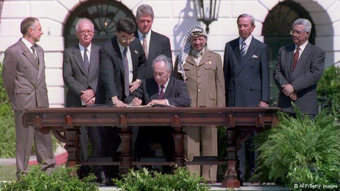 توقيع اتفاقية أوسلو قبل عشرين عاما