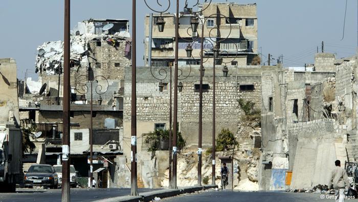 المدينة القديمة في حلب وخطر الاندثار