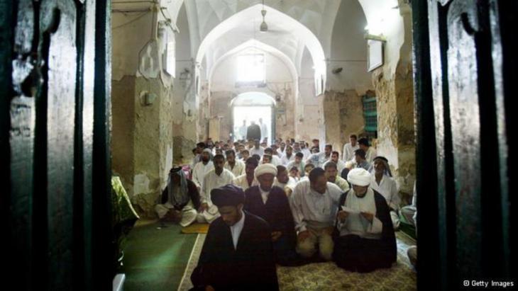 مسجد على أنقاض مرقد النبي حزقيال