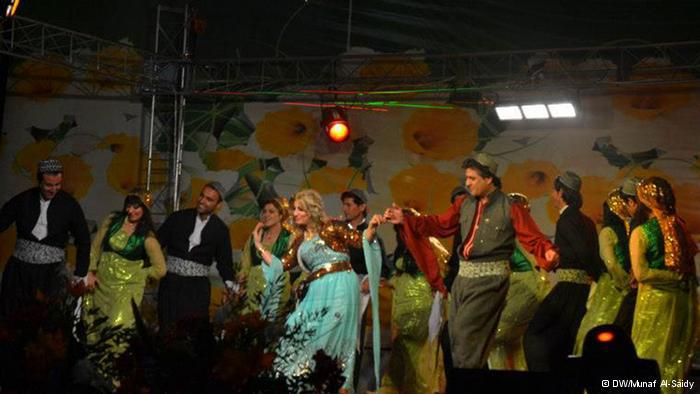 رقصات الدبكة الكردية التقليدية