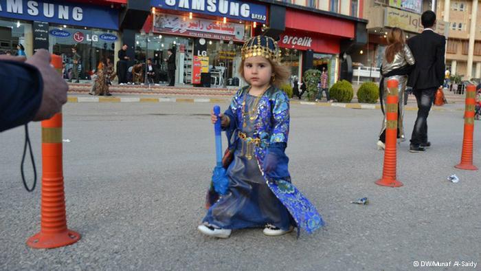 طفلة كردية