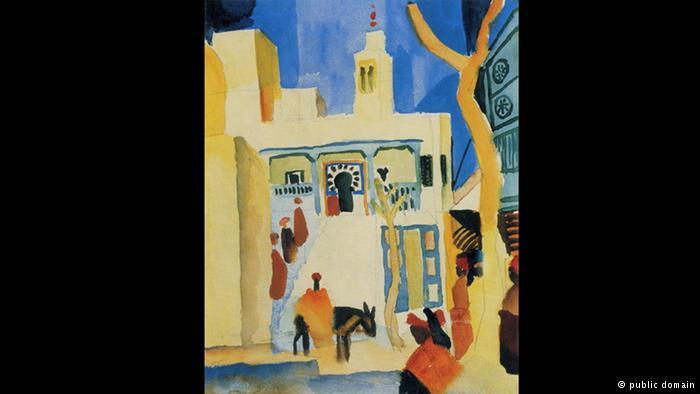 """""""نظرة على مسجد"""" في سيدي بوسعيد"""