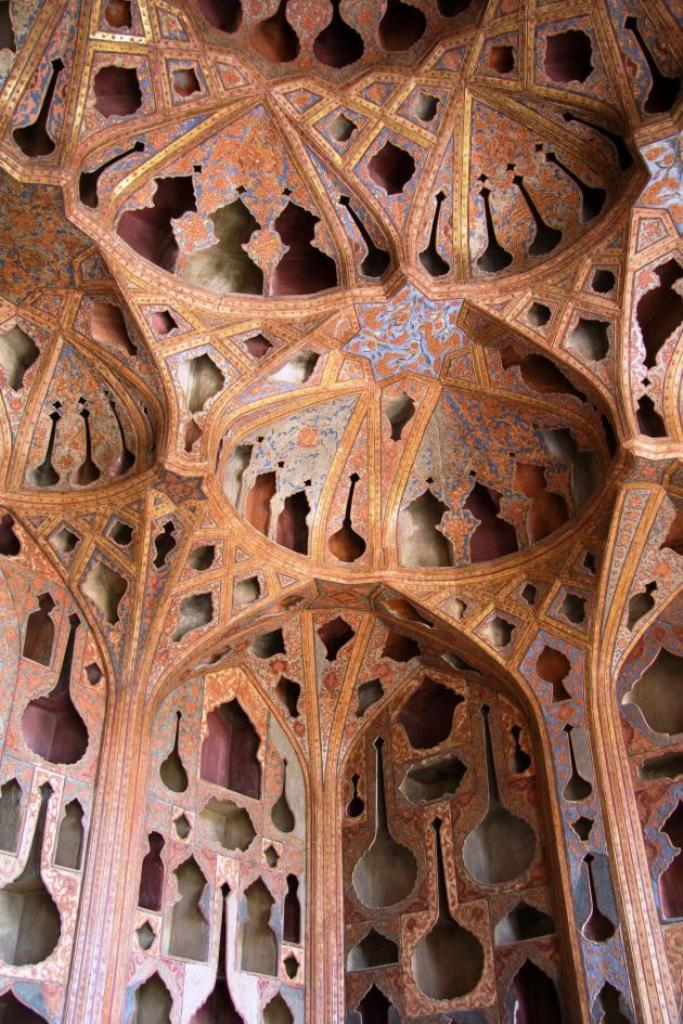 حُجرة الموسيقى في قصر علي قابو، photo: Shohreh Karimian and Johannes Ziemer