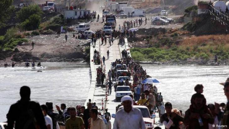 م تهجير الأيزيديين بشكل شبه كامل من المناطق التي تسيطر عليها ميليشيات تنظيم الدولة الإسلامية