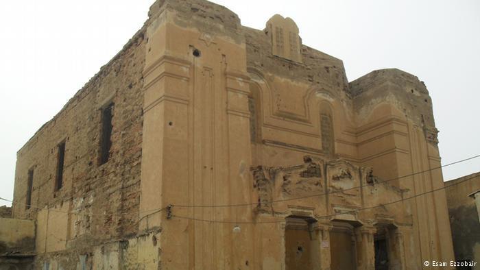 الكنيس بجوار المسجد