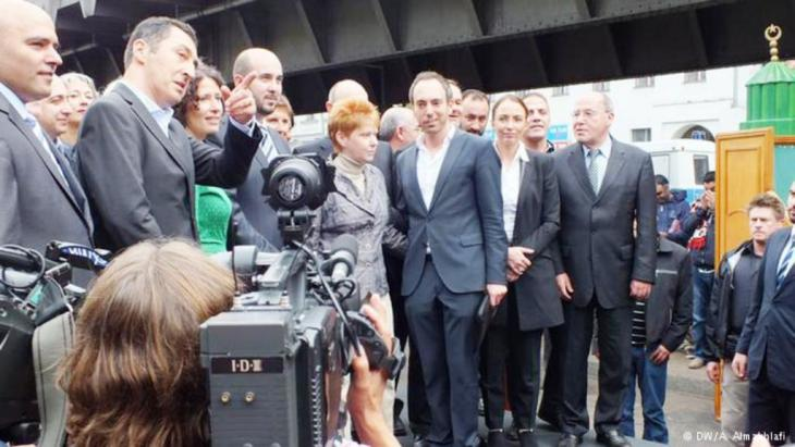حضور سياسي وديني  Photo: Ali Almakhlafi