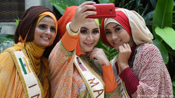 19 فتاة شاركن في المسابقة، قادمات من عدة دول من مختلف القارات.