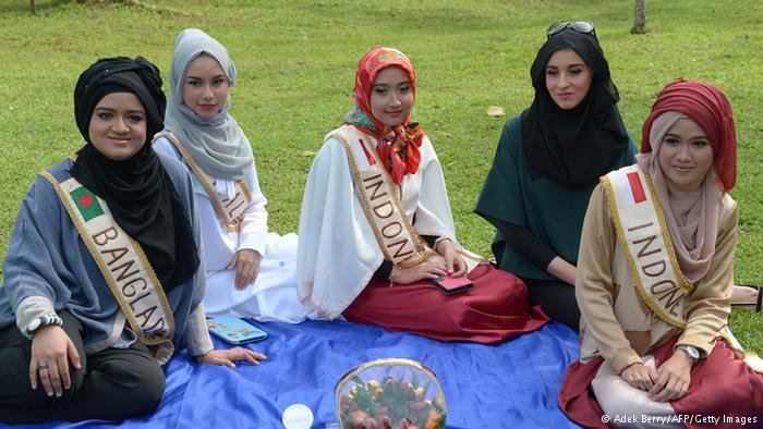 مشاركات في مسابقة الجمال العالمية للمسلمات