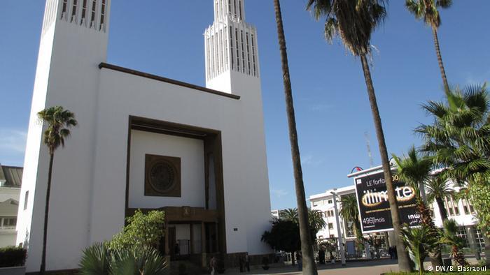 كنيسة القديس بيير شيدت سنة 1923 في الرباط