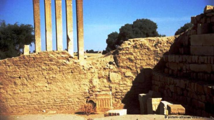 عرش بلقيس ،  معبد الشمس