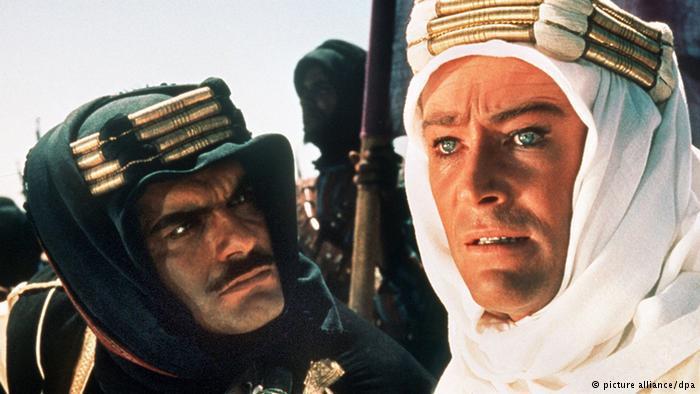 فيلم لورنس العرب أول تجربة عالمية