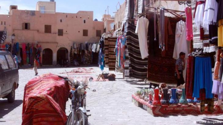 السوق القديم في مدينة غرداية الجزائرية