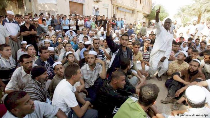 أهل مدينة غرداية الجزائرية