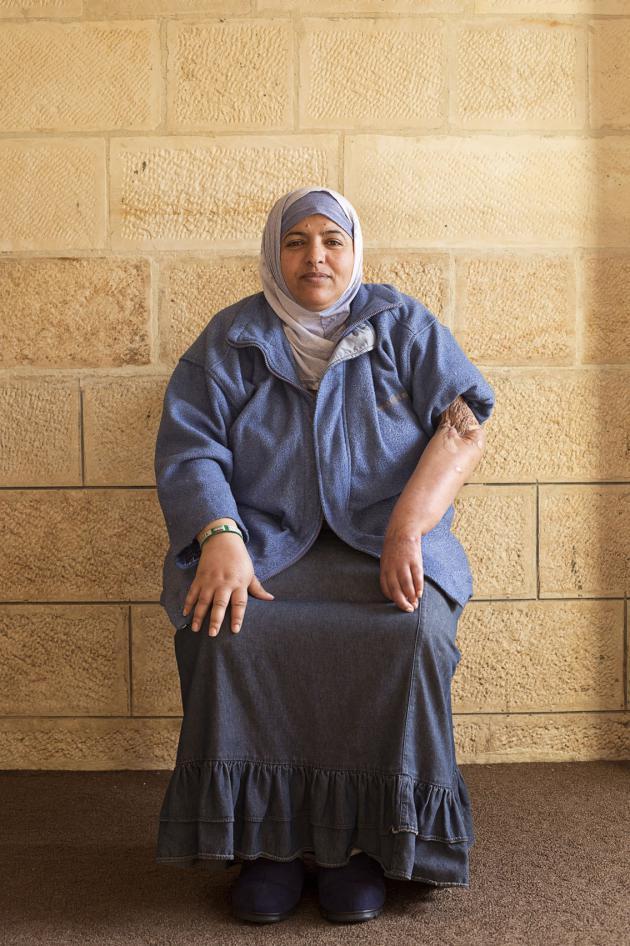 خديجة، عمرها 41 سنة. حقوق الصورة: كاي فيدنهوفر