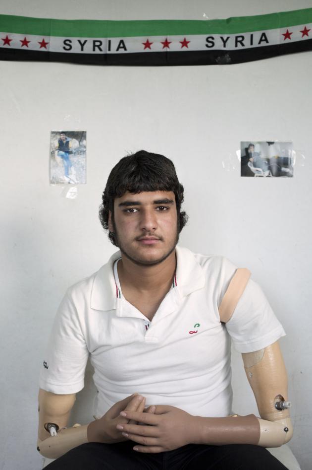 خالد، عمره 17 سنة. حقوق الصورة: كاي فيدنهوفر