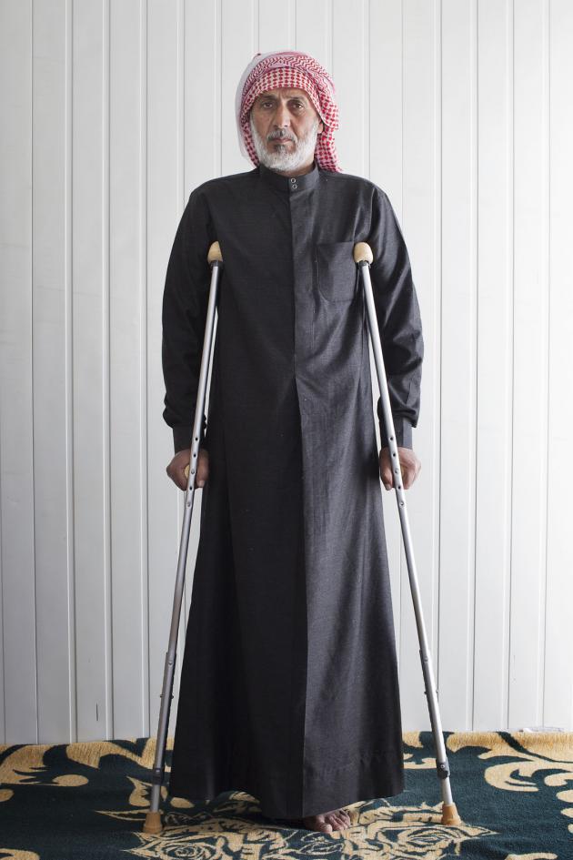 محمود، عمره 50 عاما. حقوق الصورة: كاي فيدنهوفر