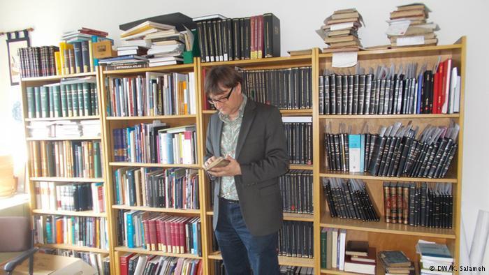 كريستوف راوخ، الخبير بالمخطوطات الإسلامية ومدير قسم المشرق بمكتبة برلين