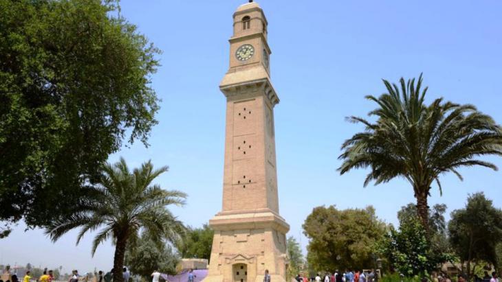ساعة الشقلة في سوق السراي - بغداد: حقوق الصورة: علي الغرباوي