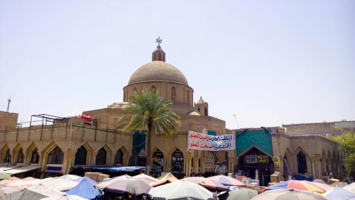 كنيسة مريم العذراء في الشورجة. حقوق الصورة: علي الغرباوي