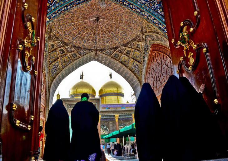 مرقد الإمام الكاظم وابنه الإمام الجوادز حقوق الصورة: علي الغرباوي