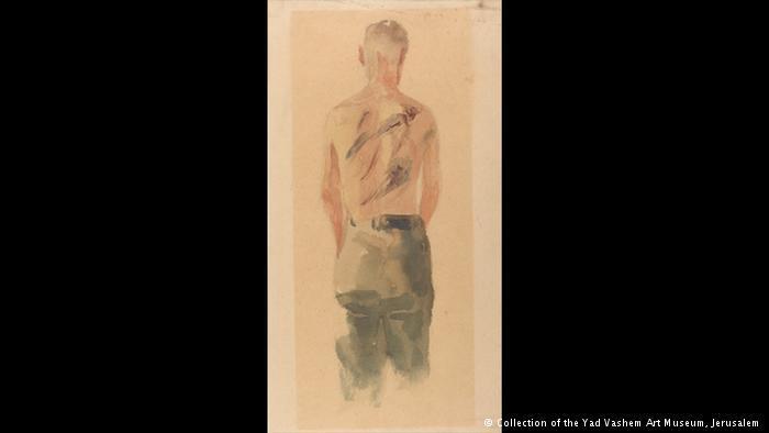 لوحات فنية رسمها ضحايا وناجون يهود من هولوكوست الإبادة النازية