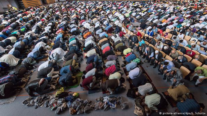 عيد الفطر (عيد رمضان) الأول لكثير من اللاجئين في ألمانيا