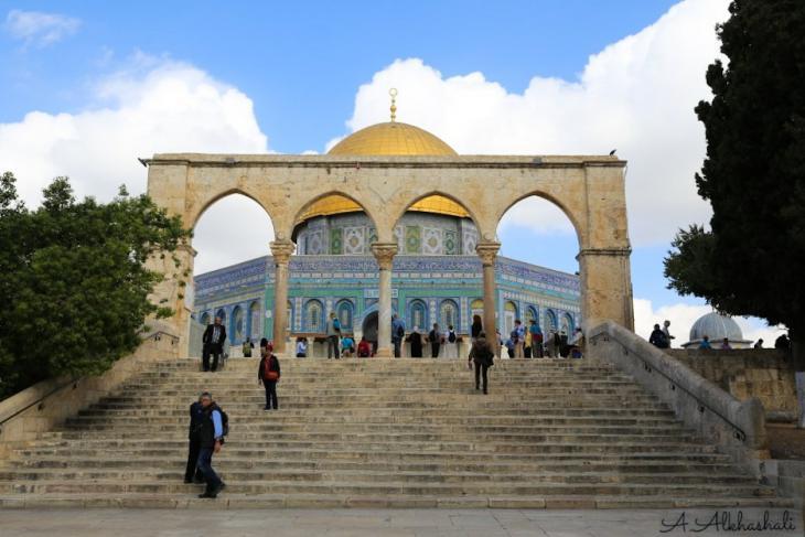 القدس...حيث تنطق الحجارة وتصمت الشفاه. الصورة: عباس الخشالي