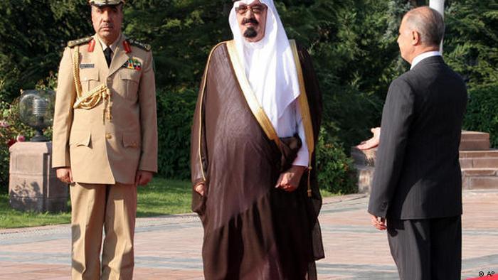 تركيا والسعودية...علاقة مد وجزر مديدة. الصورة: الملك السعودي الراحل عبد الله.