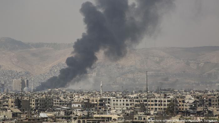 تركيا والسعودية...علاقة مد وجزر مديدة. الصورة: قتال في دمشق.