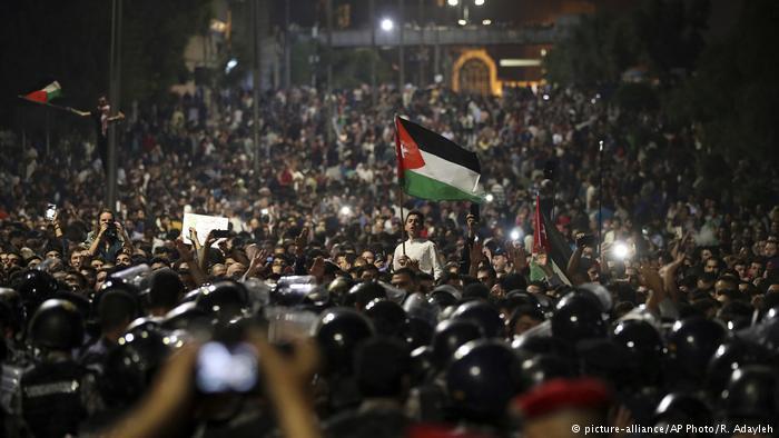الأردن ... سجل ممتلئ بالاحتجاجات الشعبية ضد غلاء المعيشة
