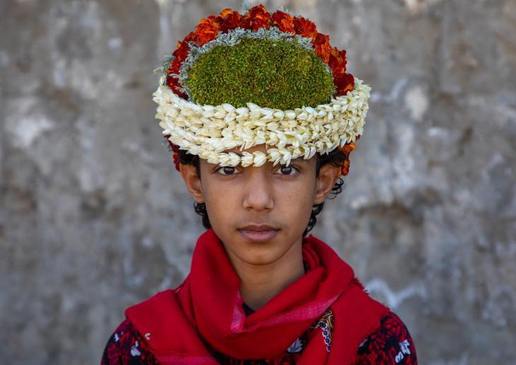 رجال الزهور في السعودية - عادات مشتركة في جبال ممتدة على الحدود اليمنية