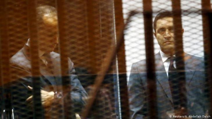 جمال وعلاء حسني مبارك
