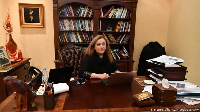 الدكتورة ناهدة طاهر  Nahed Taher -  picture-alliance/M.Voskresenskiy