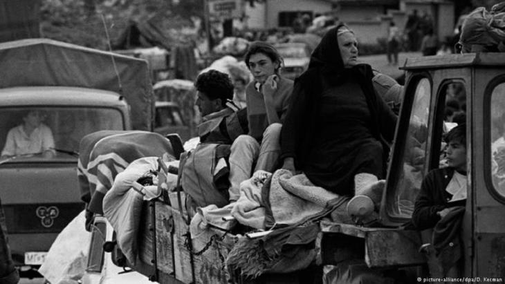 كانت هذه العائلة البوسنية الصربية من بين ملايين اللاجئين الذين شردتهم الحروب في يوغوسلافيا السابقة
