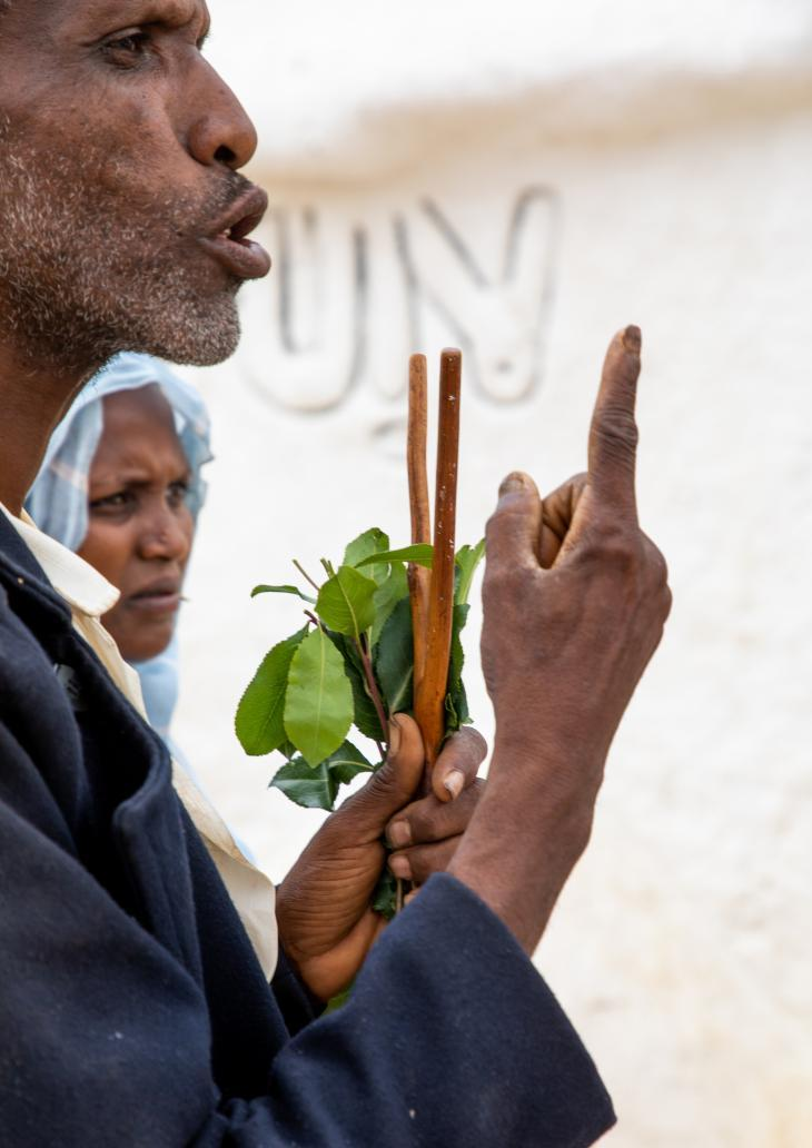 ضريح الشيخ حسين في إثيوبيا - مكة الفقراء: مزيج من الإسلام والمعتقدات الإفريقية. Foto: Eric Lafforgue