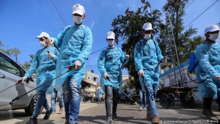 صراع ضد الفيروس الصامت. كورونا في غزة