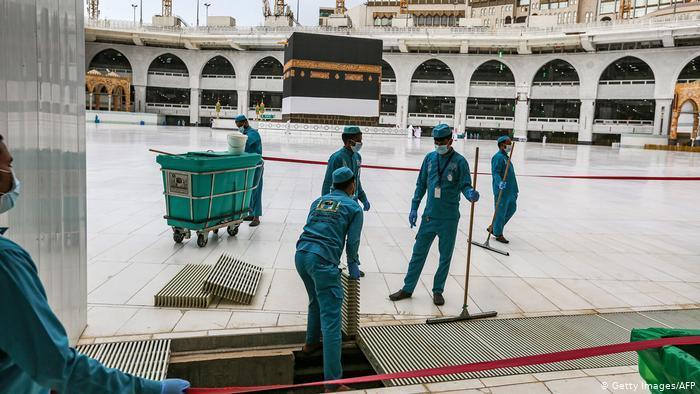 حجاج بالآلاف بدلا من الملايين - شبح كورونا يخيم على حج مكة 2020 - السعودية - الإسلام