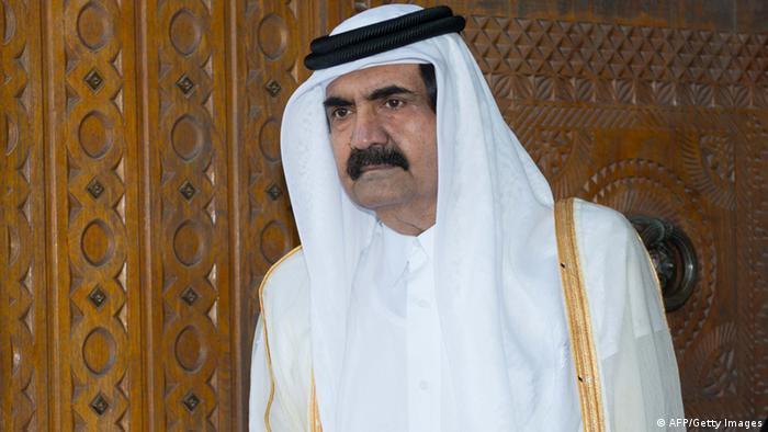 الشيخ حمد  - قطر.