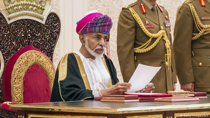 السلطان قابوس  - سلطنة عُمان.