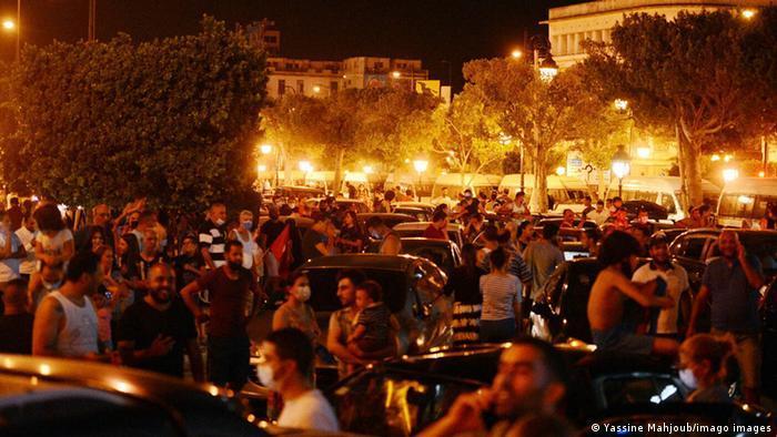 تونس ـ محطات وعرة على درب مخاض ديمقراطي عسير politik_in_tunesien_foto_imago